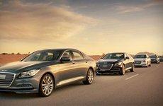 Hyundai Genesis 2015 trình diễn tính năng tự lái