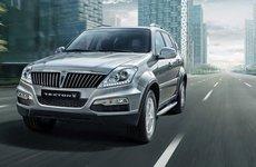 """SsangYong """"vén màn"""" phiên bản cải tiến Rexton SUV"""