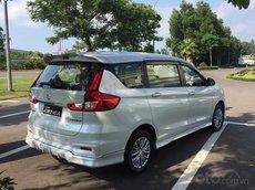 Suzuki Ertiga 2021 giảm giá cực khủng kèm nhiều ưu đãi hấp dẫn, đủ màu giao ngay