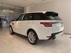 Bán xe Range Rover Sport 2021 màu trắng 7 chỗ, nhập khẩu chính hãng, mới vừa về VN, xe giao ngay, tặng ngay 1 năm bảo hiểm