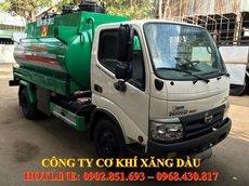 Bán xe bồn Hino 6 khối chở xăng dầu Dutro XZU342L, nhập khẩu nguyên chiếc giá tốt