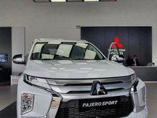 Pajero Sport 2021 màu trắng, nhập khẩu nguyên chiếc