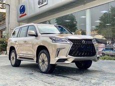 Lexus LX 570 Mỹ 2021 vàng cát, Hà Nội. Giá tốt nhất thị trường