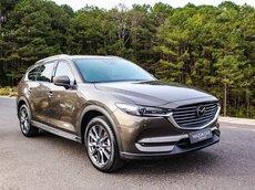 Mazda CX8 - ưu đãi siêu hot trong tháng - trả trước chỉ từ 300tr nhận xe ngay