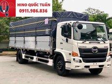 Xe tải Hino FG tải 8 tấn thùng dài 7.4 - 8.6M 2021