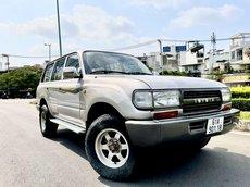 Bán Toyota Land Cruiser năm sản xuất 1993, may dau nhập khẩu nguyên chiếc số sàn giá cạnh tranh