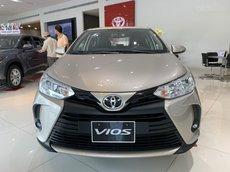 Cần bán trả góp Toyota Vios 2021 màu nâu vàng tại Tây Ninh - trả trước 150 triệu nhận xe - xe đủ màu - giao ngay
