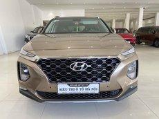 Bán xe Hyundai Santa Fe màu vàng, đi 50.000km, trả góp chỉ 381 triệu
