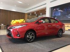 Bán trả góp xe Vios G 2021 màu đỏ, trả 190 triệu nhận xe tại Toyota Tây Ninh