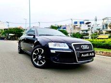 Audi A8 nhập Mỹ 2008, màu đen, zin xe 5 chỗ, hàng full đồ chơi cao cấp