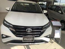 Toyota Rush 1.5 sản xuất 2021, màu trắng, 7 chỗ khuyến mãi lớn,  xe giao ngay