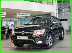 [Volkswagen Vũng Tàu ]Tiguan Luxury S 2021 màu đen, động cơ 2.0 Turbo, SUV 7 chỗ gầm cao cho gia đình, dẫn động 4motion