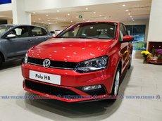 [Volkswagen Buôn Ma Thuột ]xe Đức nhập 100% Polo Hatchback màu đỏ Sunset phái nữ hoặc gia đình nhỏ, Lh Mr Thuận 24/7