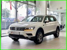 [Volkswagen Sài Gòn ] ngã ngửa với ưu đãi trước bạ sốc chưa từng thấy cho xe Đức Tiguan Luxury S, màu trắng LH Mr Thuận