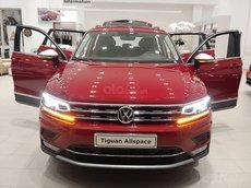 Volkswagen Cần Thơ bán xe Volkswagen Tiguan Elegance 2021 màu đỏ Ruby, giảm 100tr + nhiều quà, LH Mr Thuận có giá tốt
