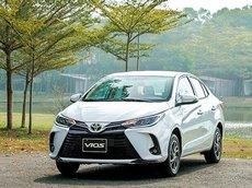 Bán xe Toyota Vios năm 2021, giá tốt, nhiều ưu đãi, đủ màu giao ngay