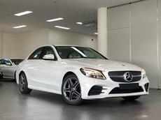 Giá xe Mercedes-Benz C180 AMG 2021, ưu đãi 50% phí trước bạ, số lượng giới hạn