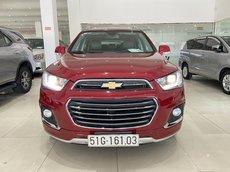 Bán xe Chevrolet Captiva màu đỏ, biển SG, chuẩn 48.000km, xe cực đẹp, có trả góp