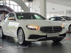 Mercedes-Benz E200 2021, giá lăn bánh, thông số kỹ thuật, hình ảnh, ưu đãi hấp dẫn