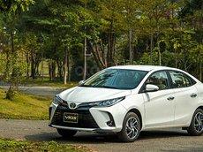 Toyota Vios 2021 - giảm tiền mặt, tặng BHVC, KM phụ kiện tại Hà Nội