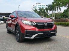 Siêu khuyến mại Honda CRV 2021 - giảm 100% thuế trước bạ, tặng bảo hiểm thân vỏ + 70 triệu phụ kiện chính hãng