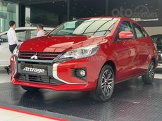 [Mitsubishi Thái Bình] Mitsubishi Attrage 2021 nhận xe chỉ với 200 tr, giao xe tại nhà, thủ tục nhanh gọn