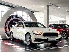 Mercedes-Benz E200 Exclusive 2021 giảm tiền mặt cực lớn, xe đủ màu giao ngay toàn miền Nam, bank hỗ trợ 80%
