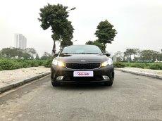 Bán xe Kia Cerato năm sản xuất 2016 biển Hà Nội, cam kết km chuẩn 65000km