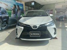 Mua xe Toyota Vios 2021 tặng 1 năm bảo hiểm, trả góp chỉ từ 5.2tr/tháng