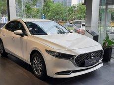 Bán xe all - new Mazda 3 1.5L Luxury màu trắng ngọc trai, ưu đãi tiền mặt và nhiều khuyến mại khác