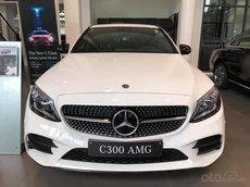 Mercedes C300 AMG 2021, giảm tiền mặt trực tiếp cùng quà tặng hấp dẫn, ưu đãi ngập tràn
