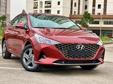Hyundai Accent 2021, giảm 30tr tiền mặt, tặng gói phụ kiện chính hãng, hỗ trợ trả góp 85%