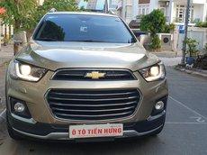 Bán Chevrolet Captiva Revv máy 2.4 Ecotec tự động T12/2016, vàng cát, tuyệt đẹp mới 90%