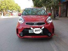 Cần bán lại xe Kia Morning sản xuất 2017, màu đỏ