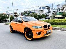 BMW X6 3.0 nhập Mỹ 2009 màu vàng cam loại, full xe do vào rất nhiều đồ chơi cao cấp, mâm pô, cửa sổ trời