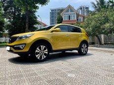 Xe Kia Sportage Limited sản xuất năm 2011, màu vàng, nhập khẩu