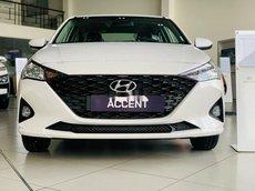 Bán Hyundai Accent đời 2021, màu trắng giá cạnh tranh