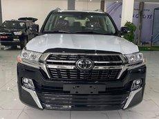 Bán xe Toyota Land Cruiser 5.7 VXS sản xuất 2021, 8 chỗ màu đen, xe nhập mới 100%, giao ngay toàn quốc