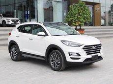 Bán xe Hyundai Tucson 2021, giảm 30tr tiền mặt, xe đủ màu, đủ phiên bản, hỗ trợ trả góp tới 85%