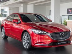 [ Mazda Yên Nghĩa - Hà Đông ] new Mazda 6 2.5 Signature Premium màu đỏ VIN 2020 – một xe duy nhất, ưu đãi hấp dẫn nhất