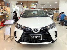 Toyota Yaris 2021 - Hatchback 5 chỗ nhập khẩu nguyên chiếc Thailand, ưu đãi hot trong tháng