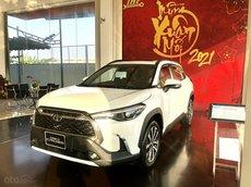 Toyota Corolla Cross 1.8V nhập Thái, màu trắng ngọc trai giao ngay