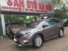 Sàn Ô Tô Hà Nội bán Honda CR-V 2.0 sx 2015, xe tư nhân chính chủ màu nâu đi rất ít