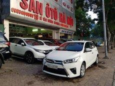 Sàn ô tô Hà Nội bán Toyota Yaris 1.3G màu trắng, xe nhập khẩu sản xuất 2014