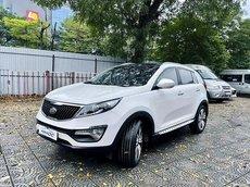Cần bán gấp Kia Sportage Limited đời 2014, màu trắng, nhập khẩu