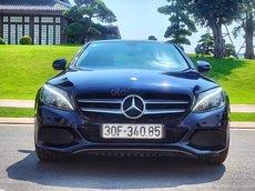 Bán Xe Mercedes-Benz C class C200 sản xuất 2017 Xanh nội thất kem model 2018 tại Hà Nội
