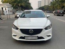 Bán Mazda 6 2.5 bản full sản xuất 2015, màu trắng
