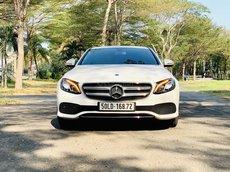 Mercedes-Benz E180 2020, màu trắng siêu lướt, giá tốt chính hãng