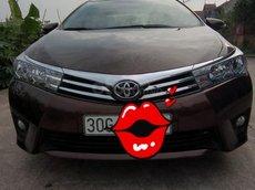 Cần bán lại xe Toyota Corolla Altis màu nâu đồng năm 2016, giá tốt 610tr