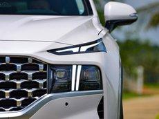 Cần bán xe Hyundai Santa Fe 2021, màu trắng
